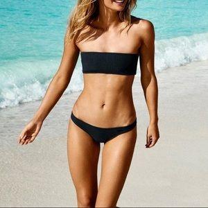Triangl Twinnie Bikini Set In Midnight Black NWT